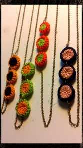 Penjolls de ganxet, crochet